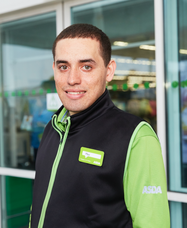 Max Ferreira is growing in confidence after getting a job at Asda Southgate Circus