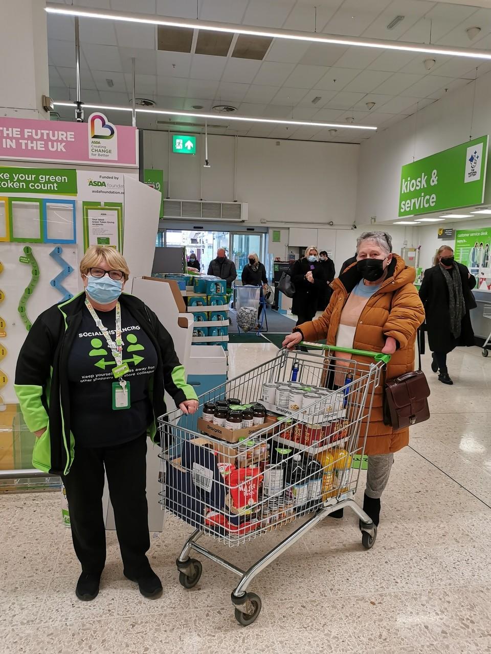 Food bank donation | Asda Falkirk
