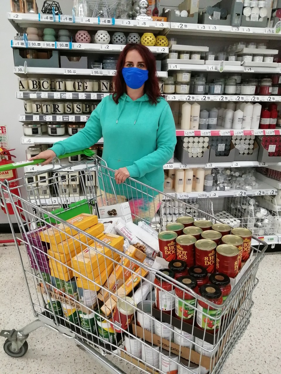 Beaufort Foodbank donation | Asda Newport Pillgwenlly