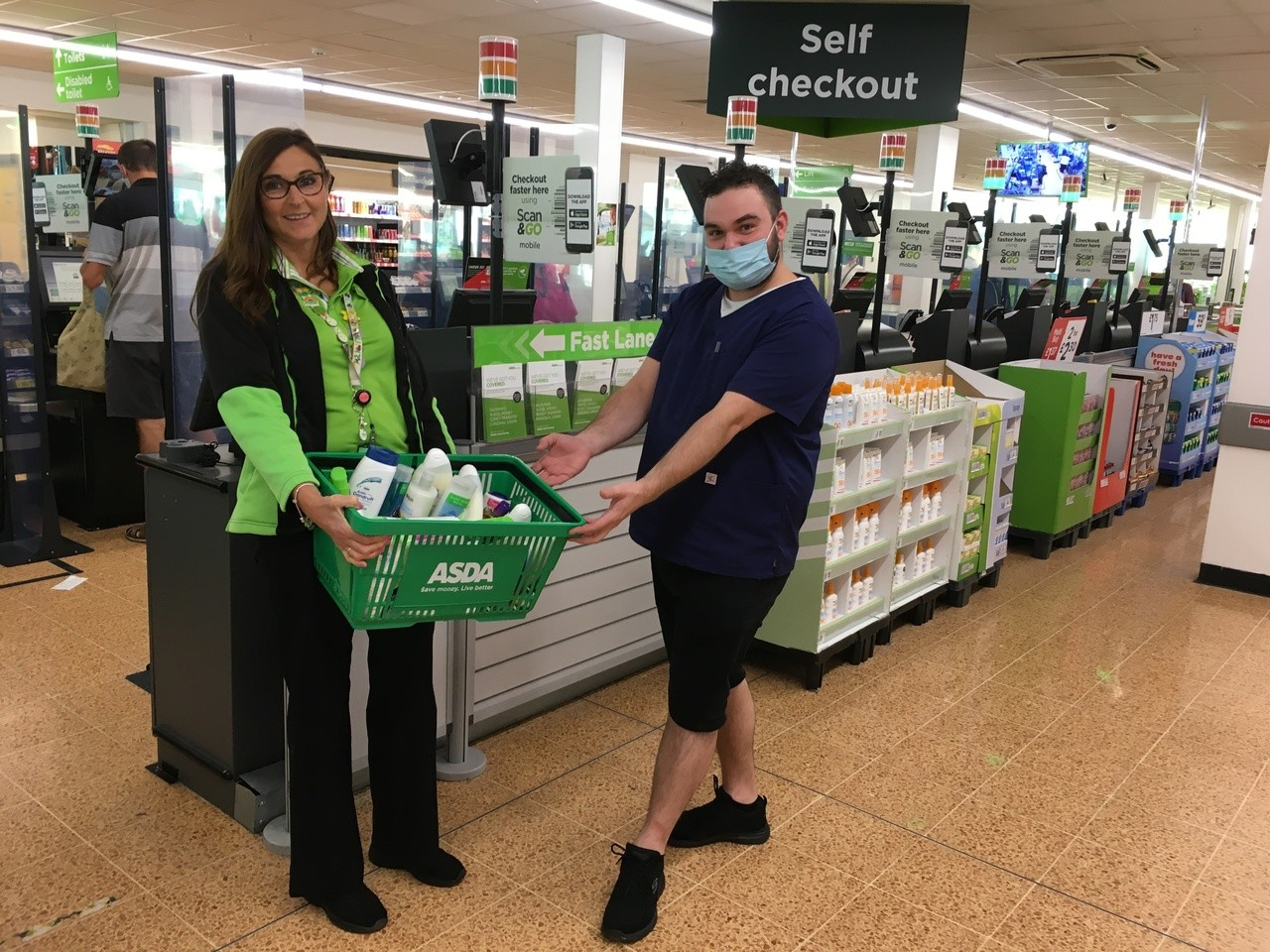Care home donation | Asda Longwell Green