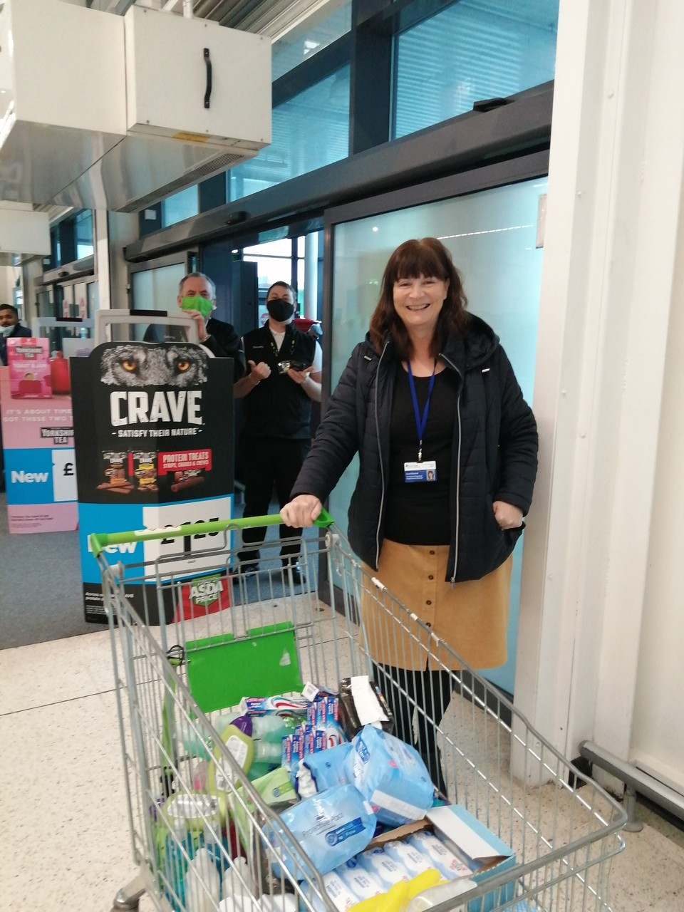 Donation to Newport Mind | Asda Newport Pillgwenlly