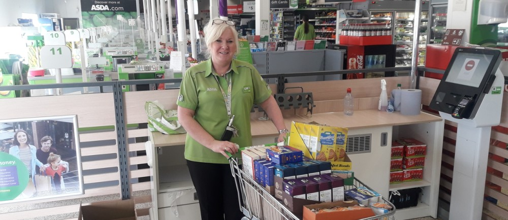 NHS store donation  | Asda Barrow