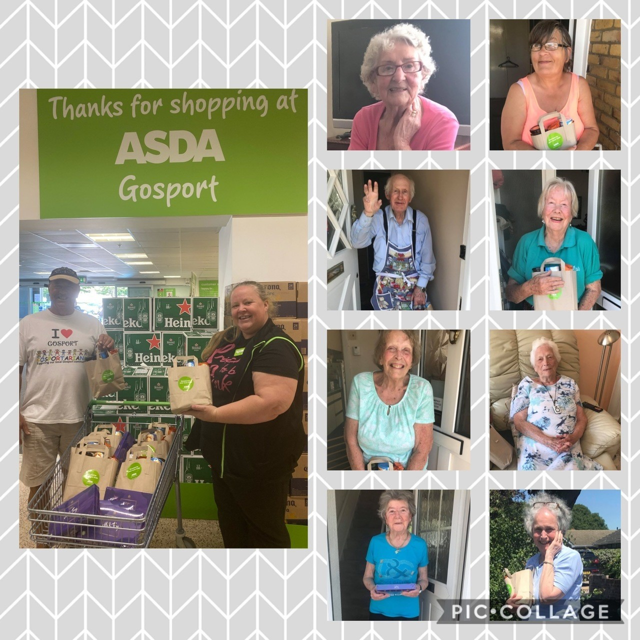 Packages for Partially Sighted Group | Asda Gosport