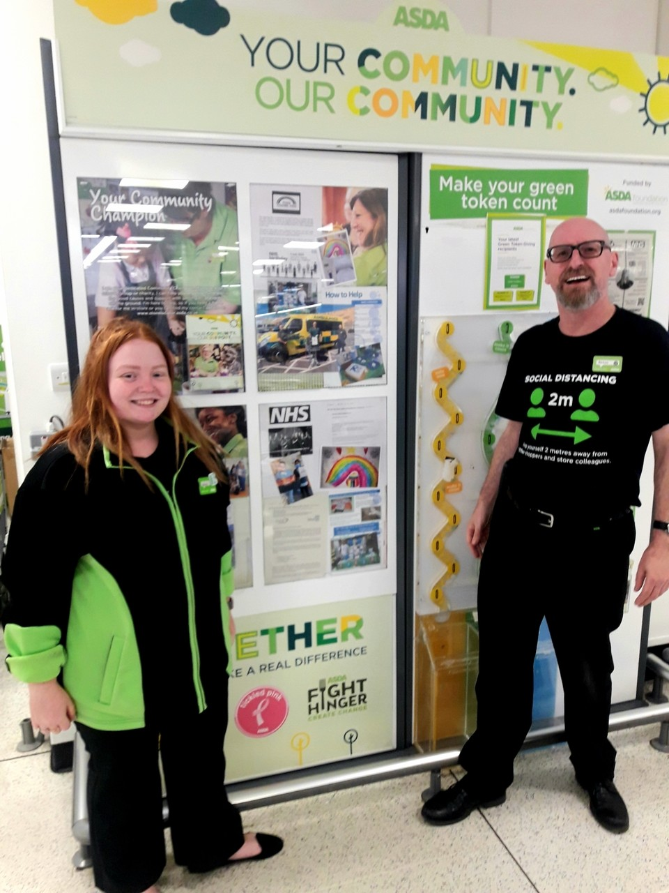 Celebrating NHS at 72 | Asda Brighton Marina