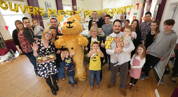 Asda Harwich community champion Deirdre's Pudsey surprise for Oliver