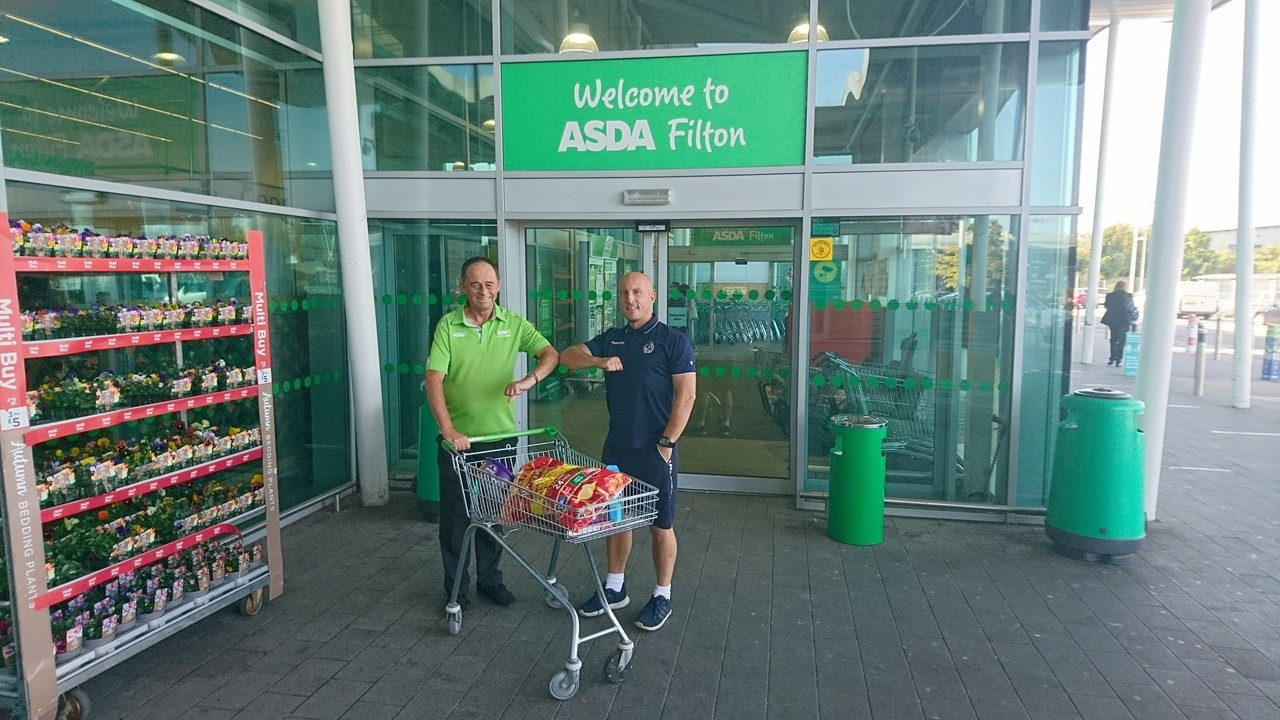 Thank you for supporting our community  | Asda Filton