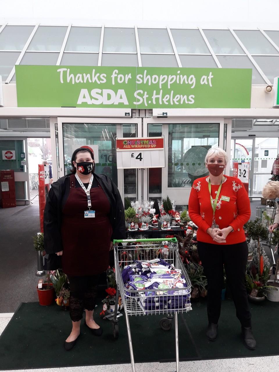 Asda St Helen's bring smiles this Christmas..... | Asda St Helens