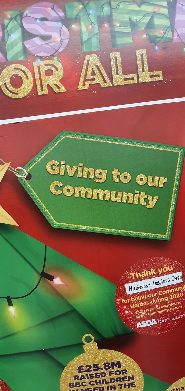 Christmas Giving in our Community  | Asda Hayes