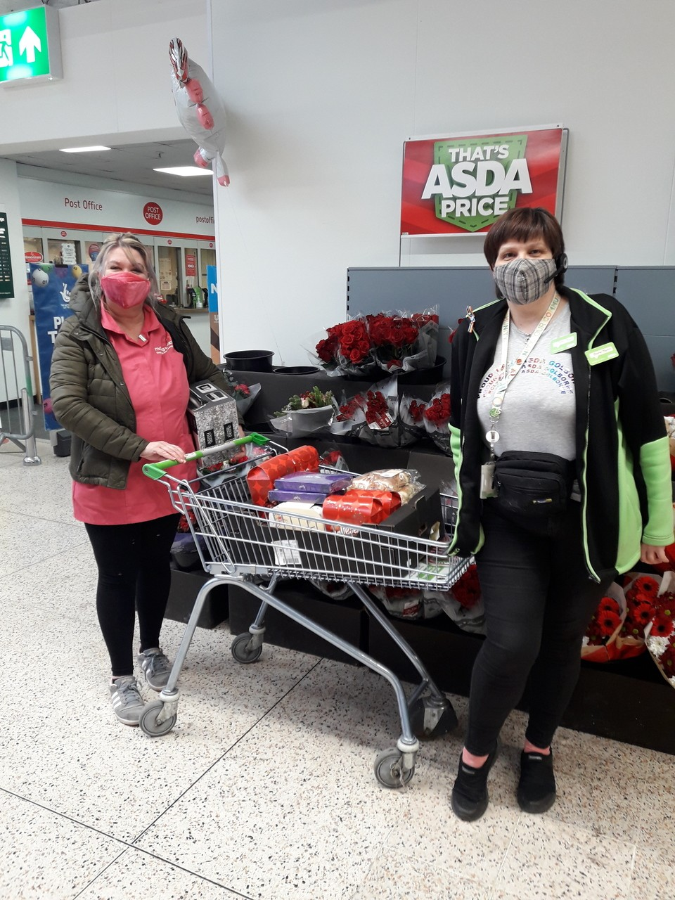 Donation to Ashwood Court Unit 1 | Asda Golborne