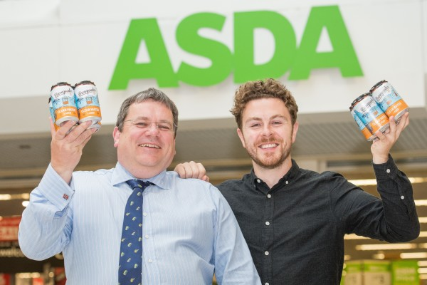 Brewgooder bought at Asda helps provide clean drinking water