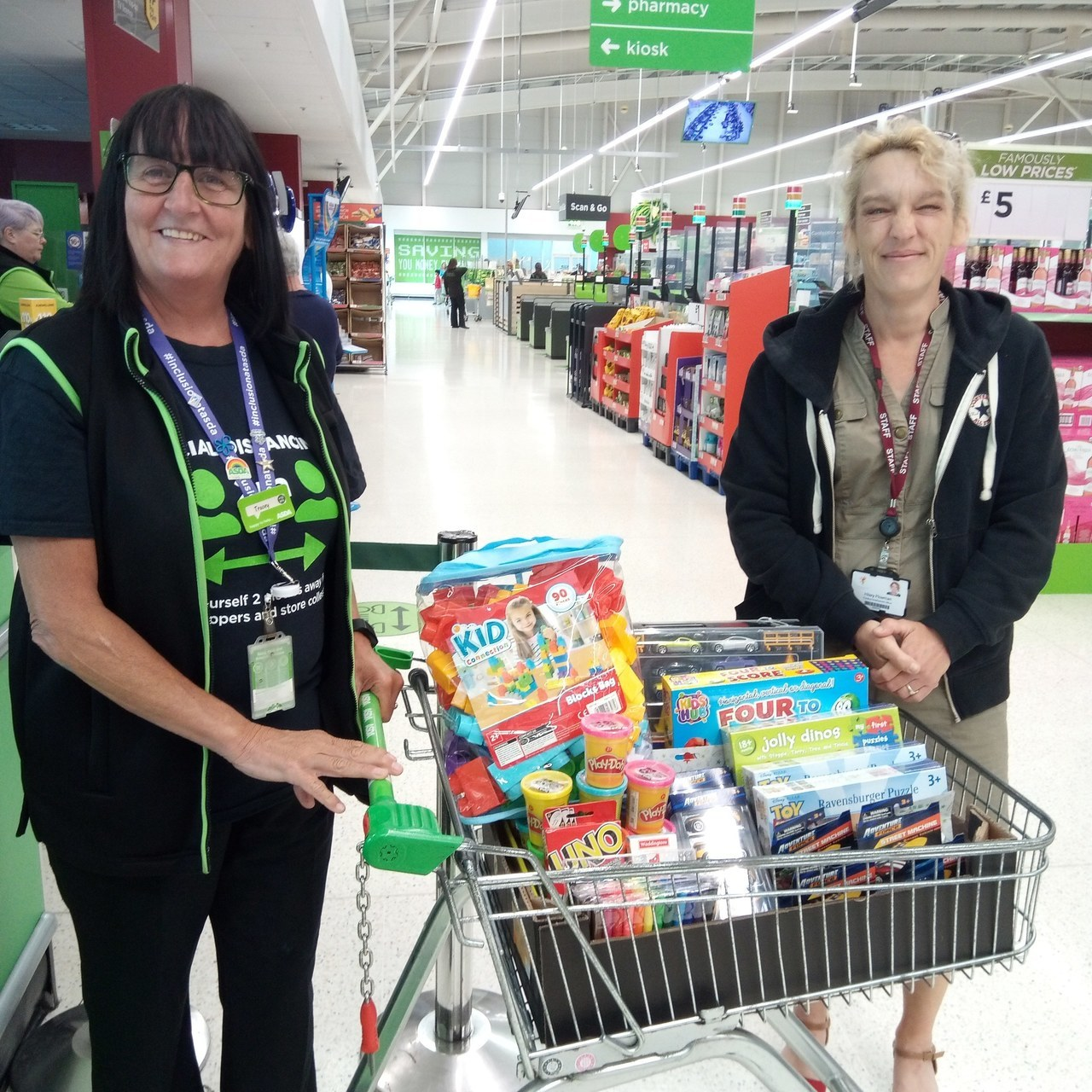 Donation to Foreland Field School | Asda Broadstairs