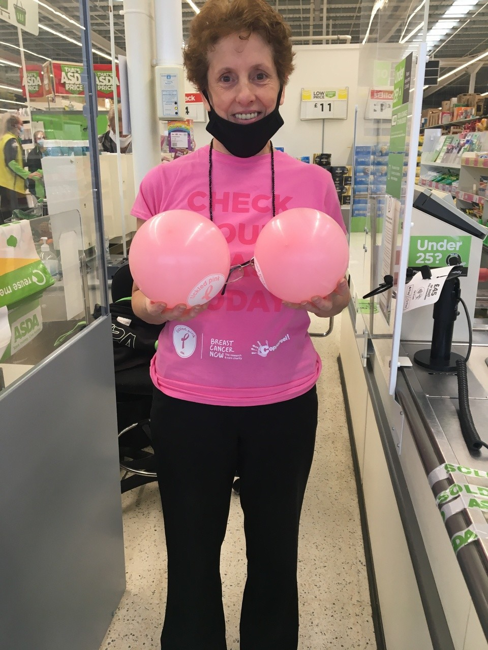 Supporting Tickled Pink throughout October 💖 at Haydon  | Asda Swindon Haydon