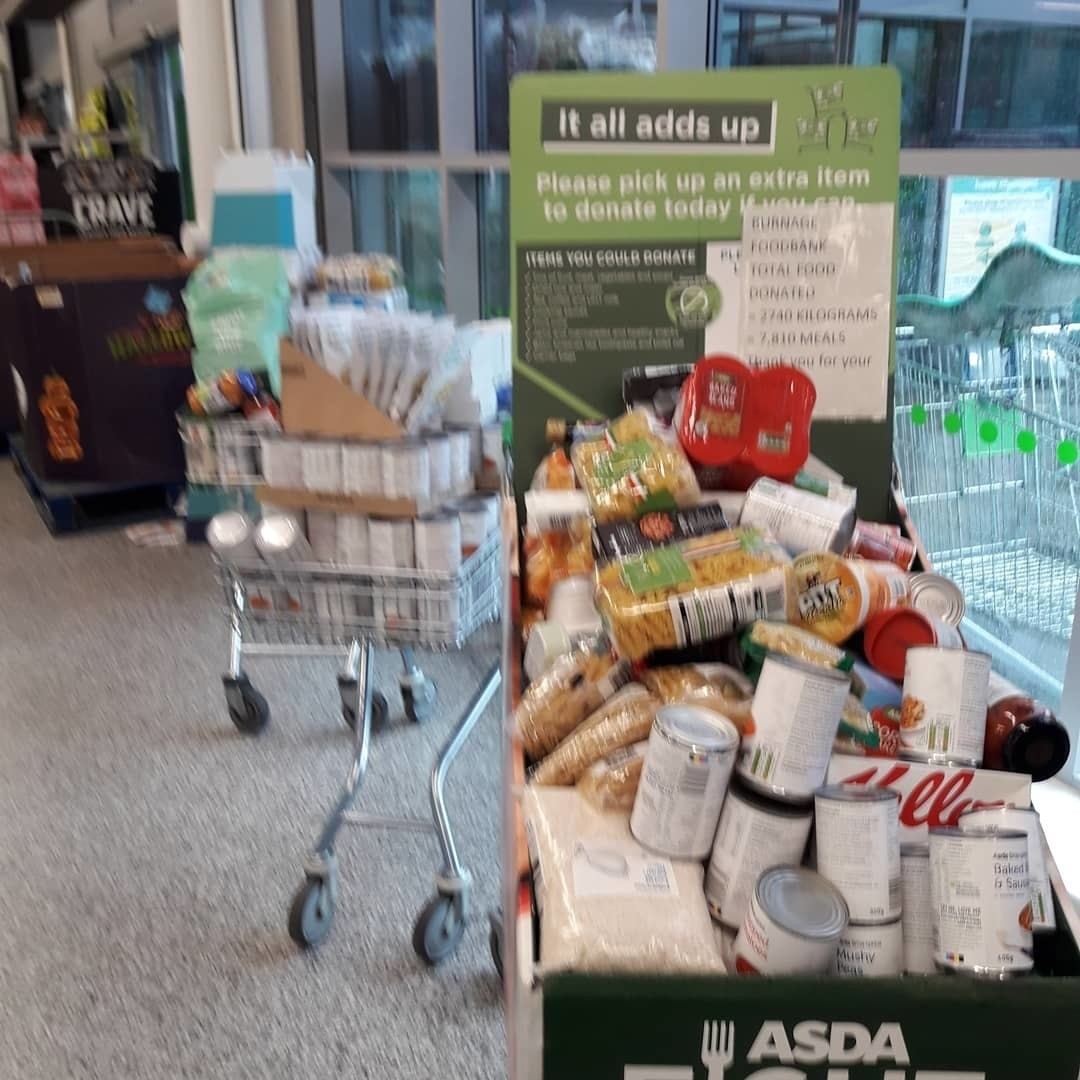 Incredible support for Burnage Foodbank  | Asda Reddish