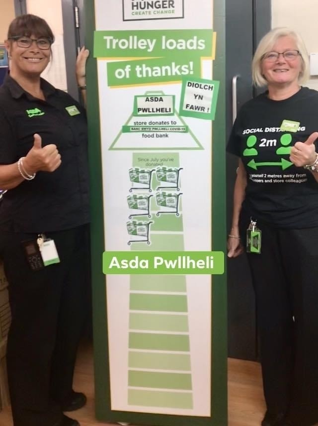 Fight Hunger Create Change | Asda Pwllheli