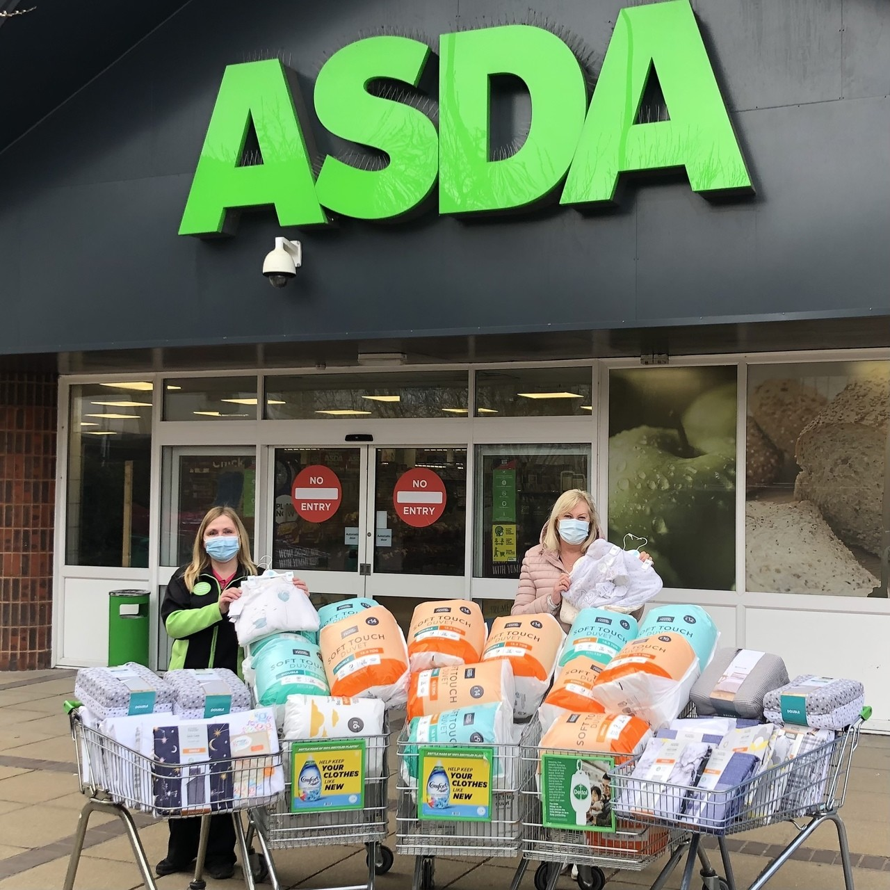 Supporting Communities donation  | Asda Waterlooville