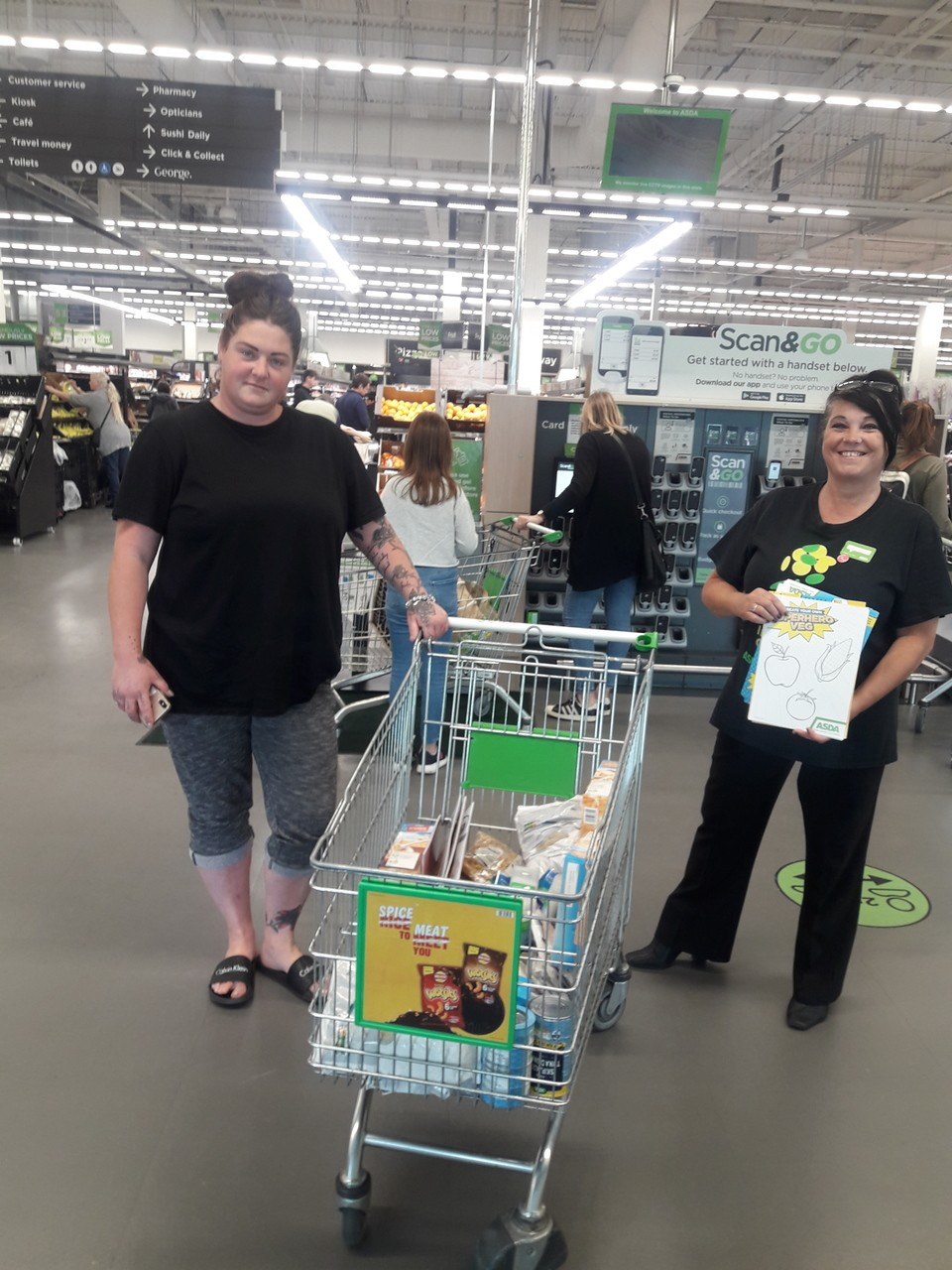 Donation of food and essentials | Asda Patchway