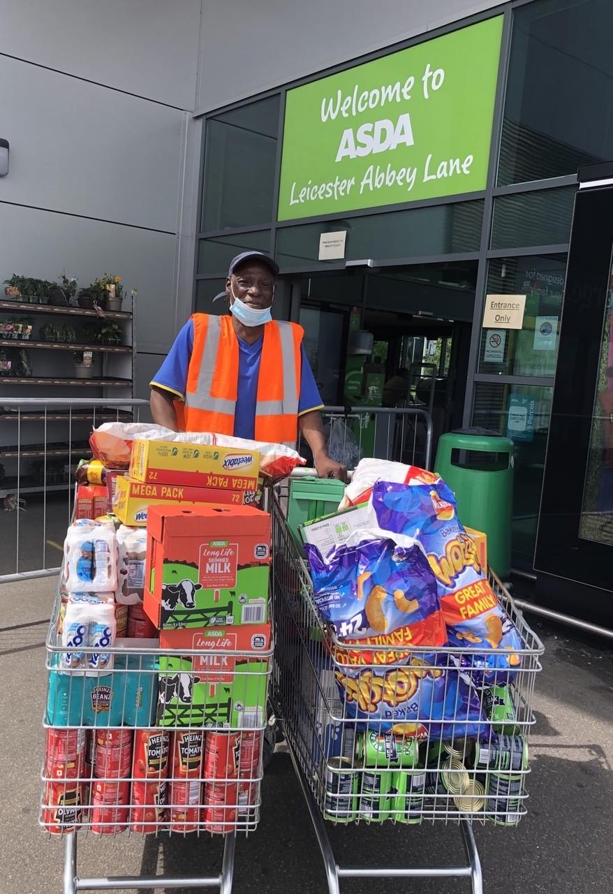 Colleague donation | Asda Leicester Abbey Lane