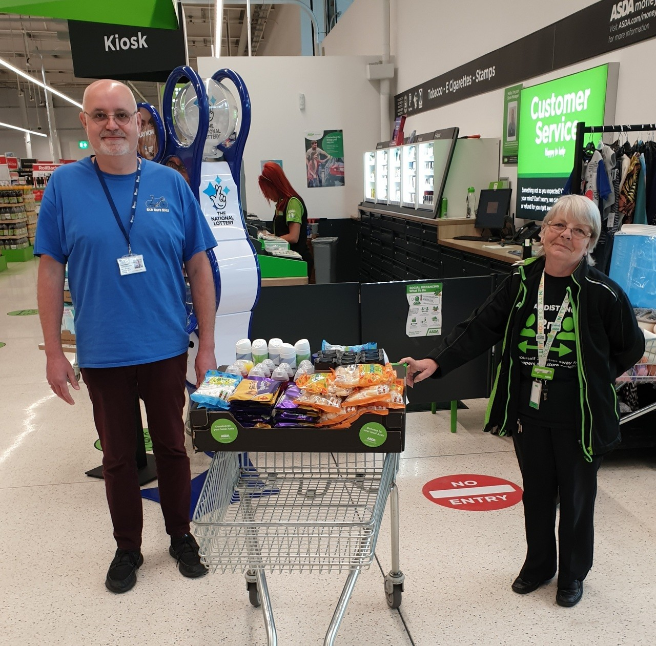 Herefordshire Mind Network donation  | Asda Hereford