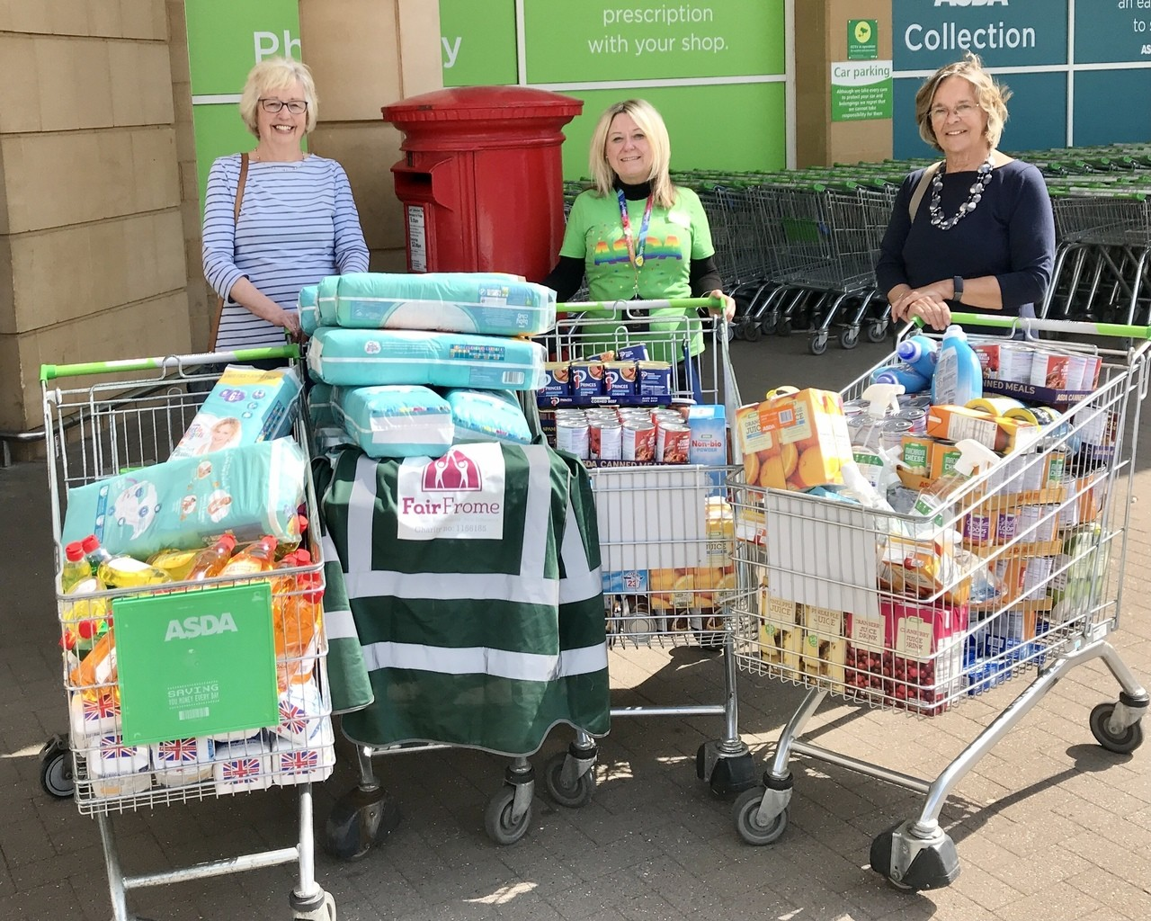 Grant to Fair Frome Foodbank | Asda Frome