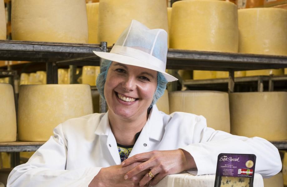 Asda's Cheese Taster, Sarah De Wit