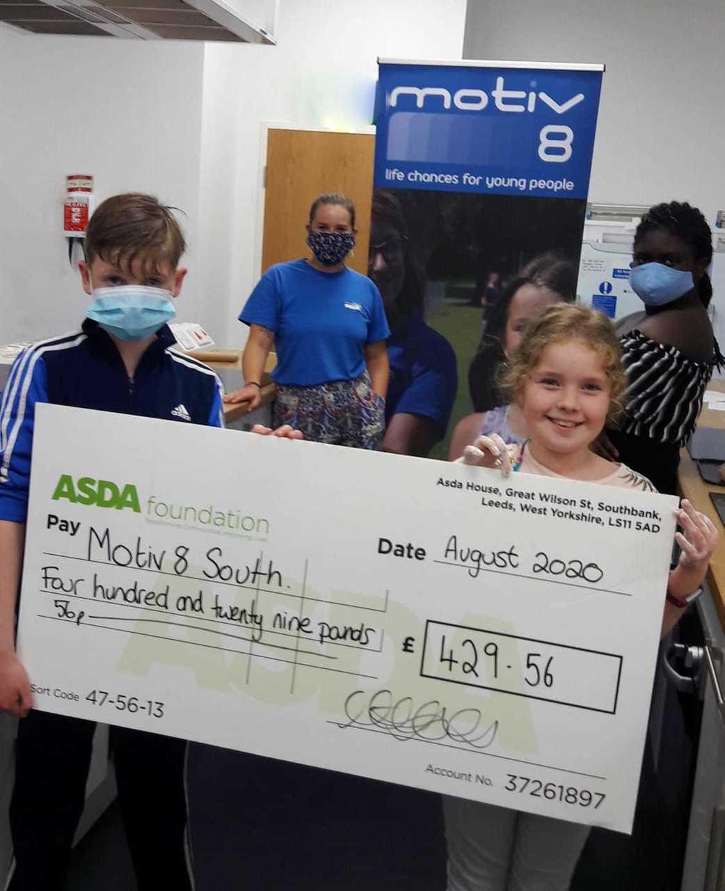 Motiv8 South grant | Asda Portsmouth