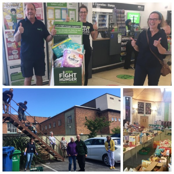 Weston Foodbank received a £24,000 grant from the Asda Foundation