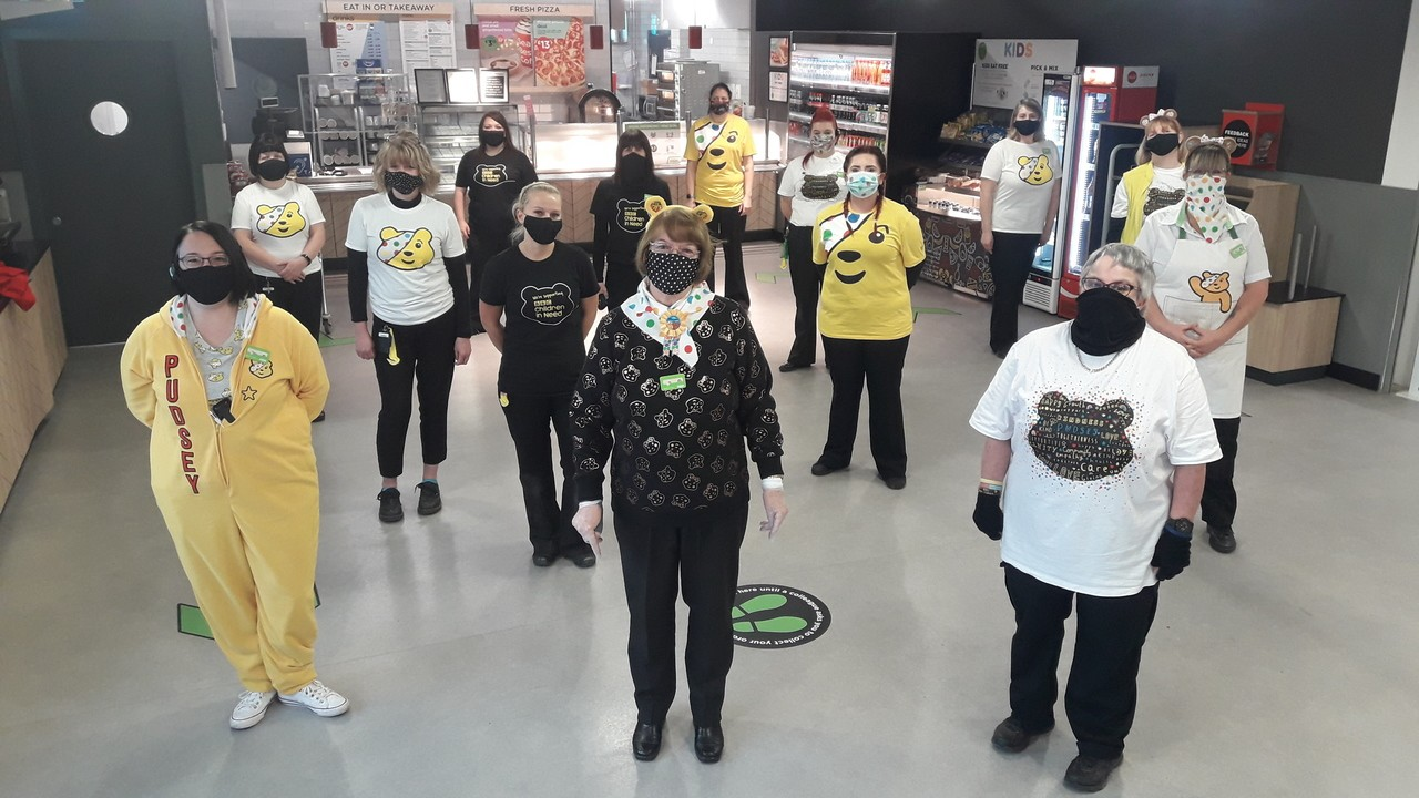Support for Children in Need | Asda Boston