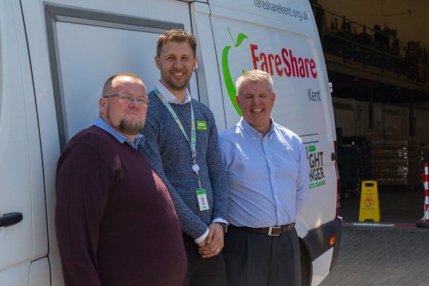 The Asda Fight Hunger Create Change scheme has enabled FareShare to open a new warehouse in Kent