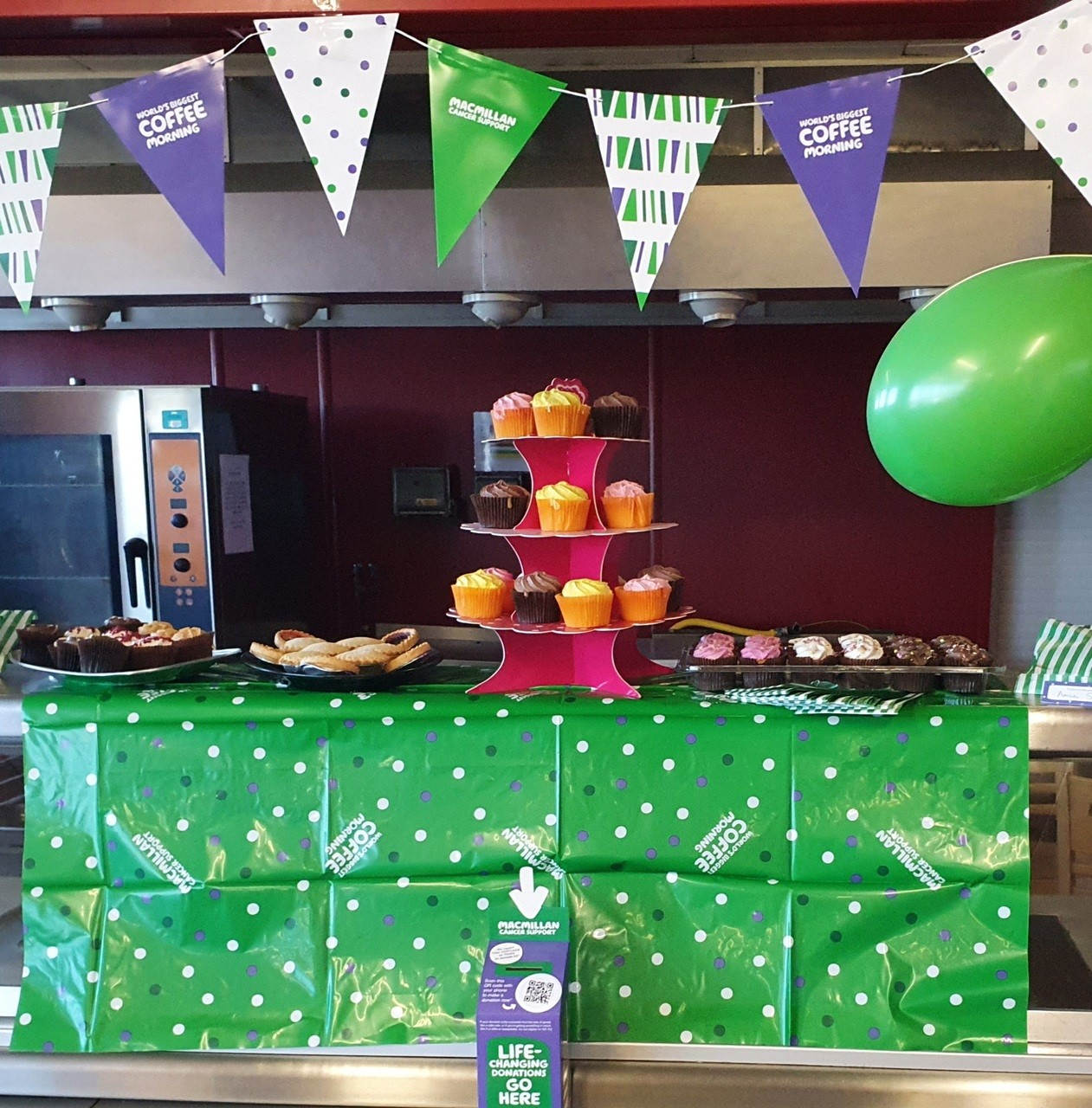 Macmillan Colleague Coffee morning | Asda Brierley Hill