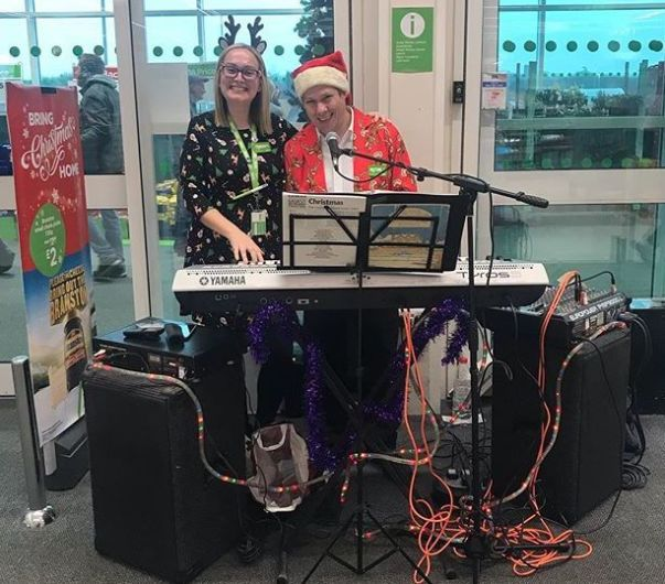 Derek at Asda Langley Mills