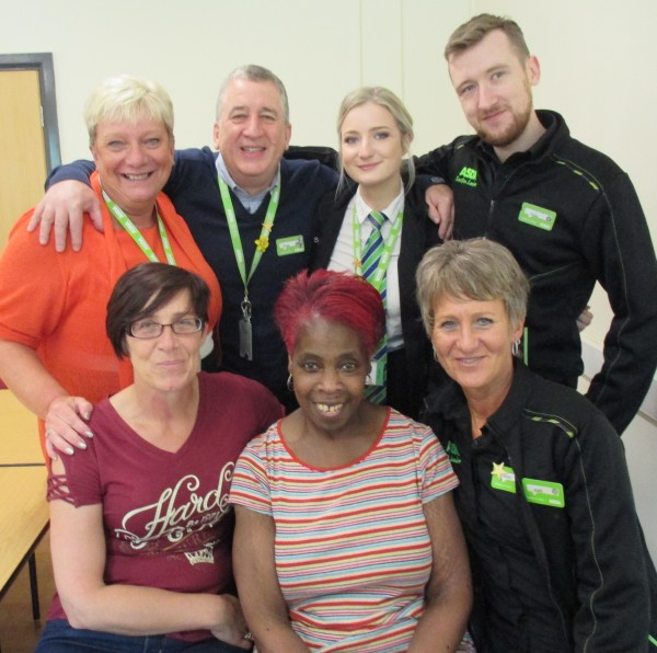 Colleagues at Asda Wolstanton save life of checkout operator Norma