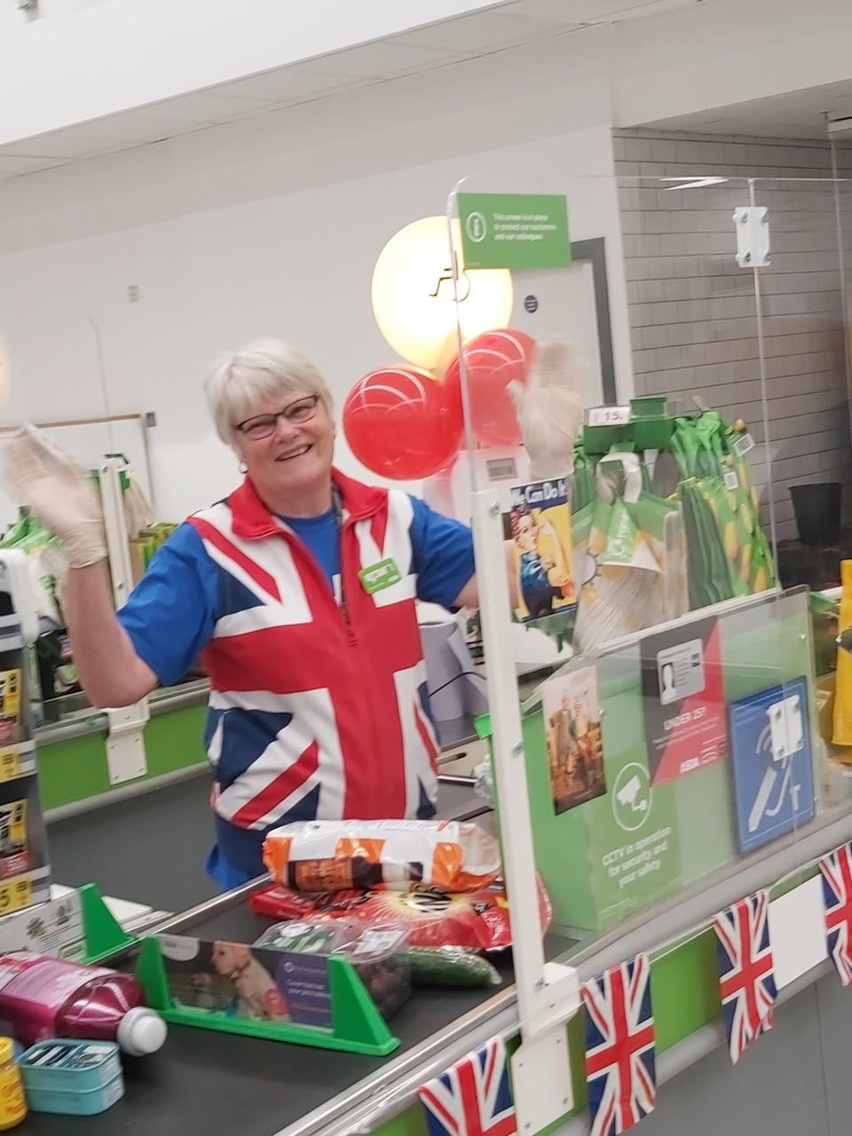 VE Day celebration | Asda Donnington Wood