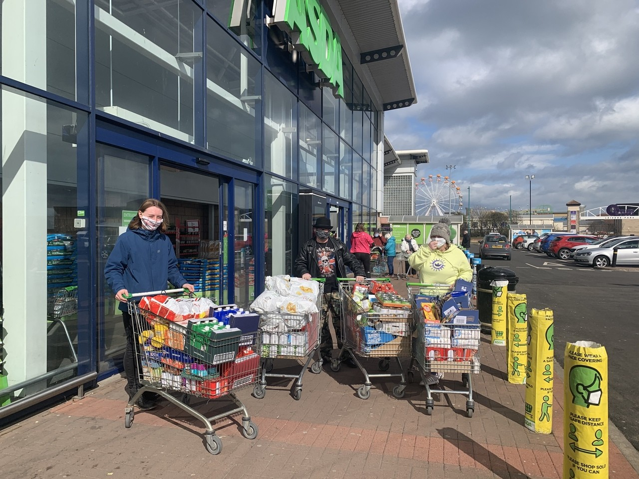 Supporting communities grant | Asda Aberdeen Beach
