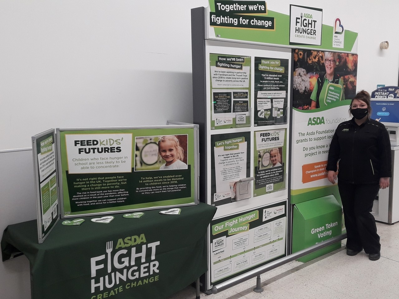 Supporting Fight Hunger Create Change | Asda Boston