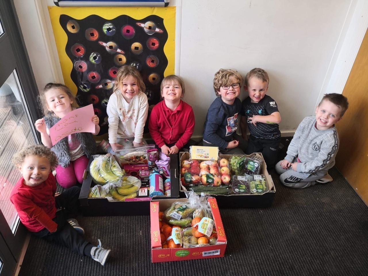 Healthy eating at Brookside Pre-school | Asda Ipswich Stoke Park