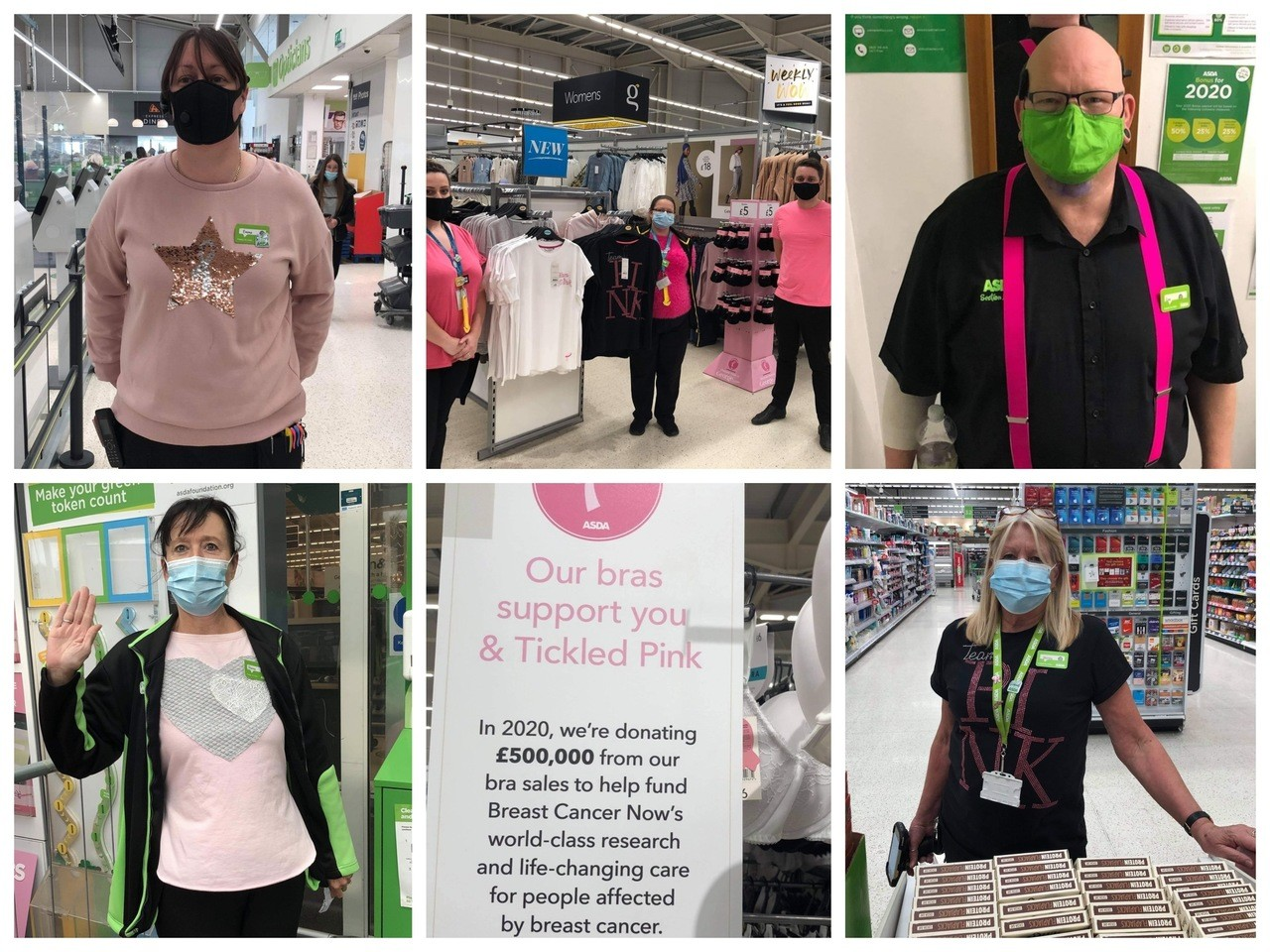 Proud to be pink | Asda Canterbury