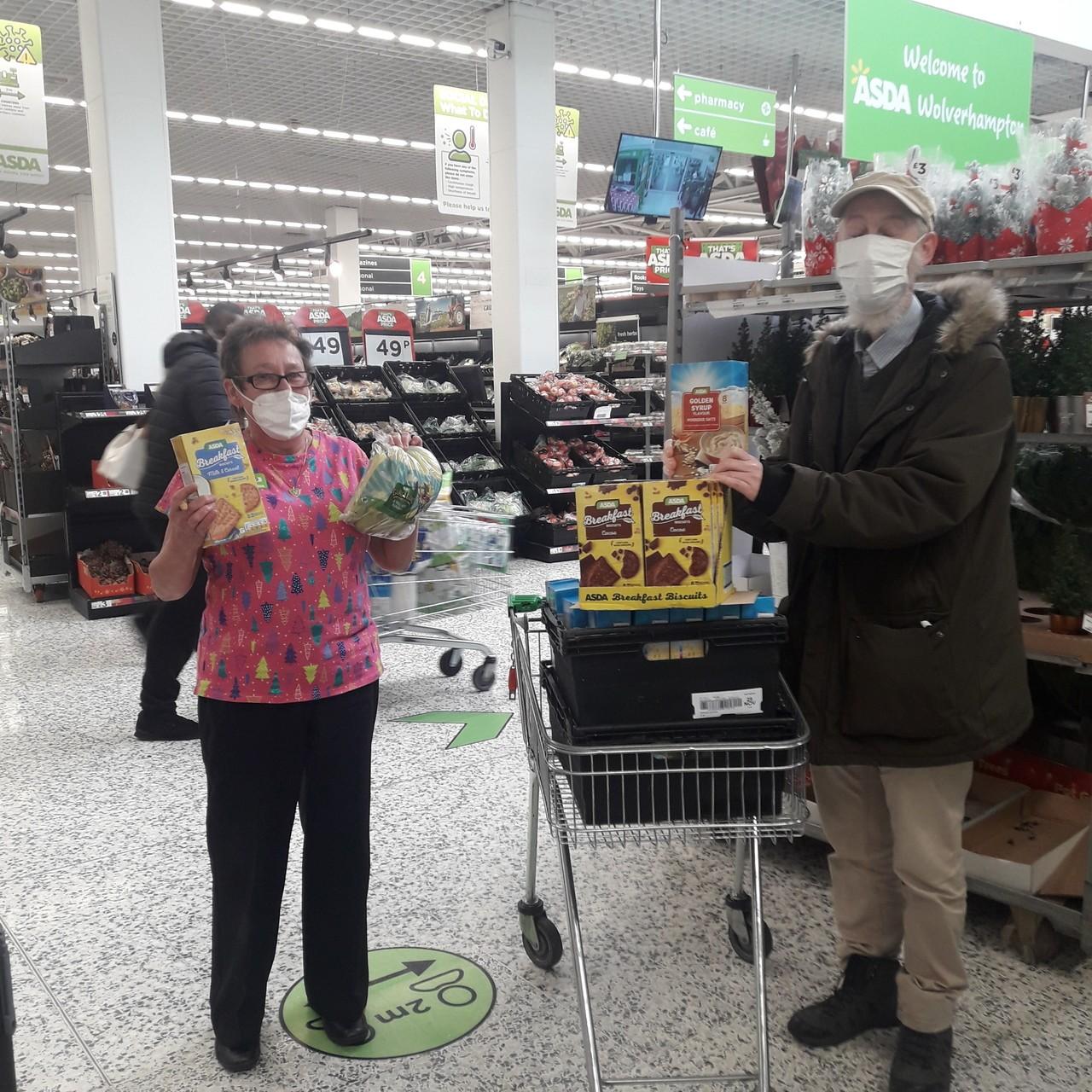 Breakfast pack donation | Asda Wolverhampton