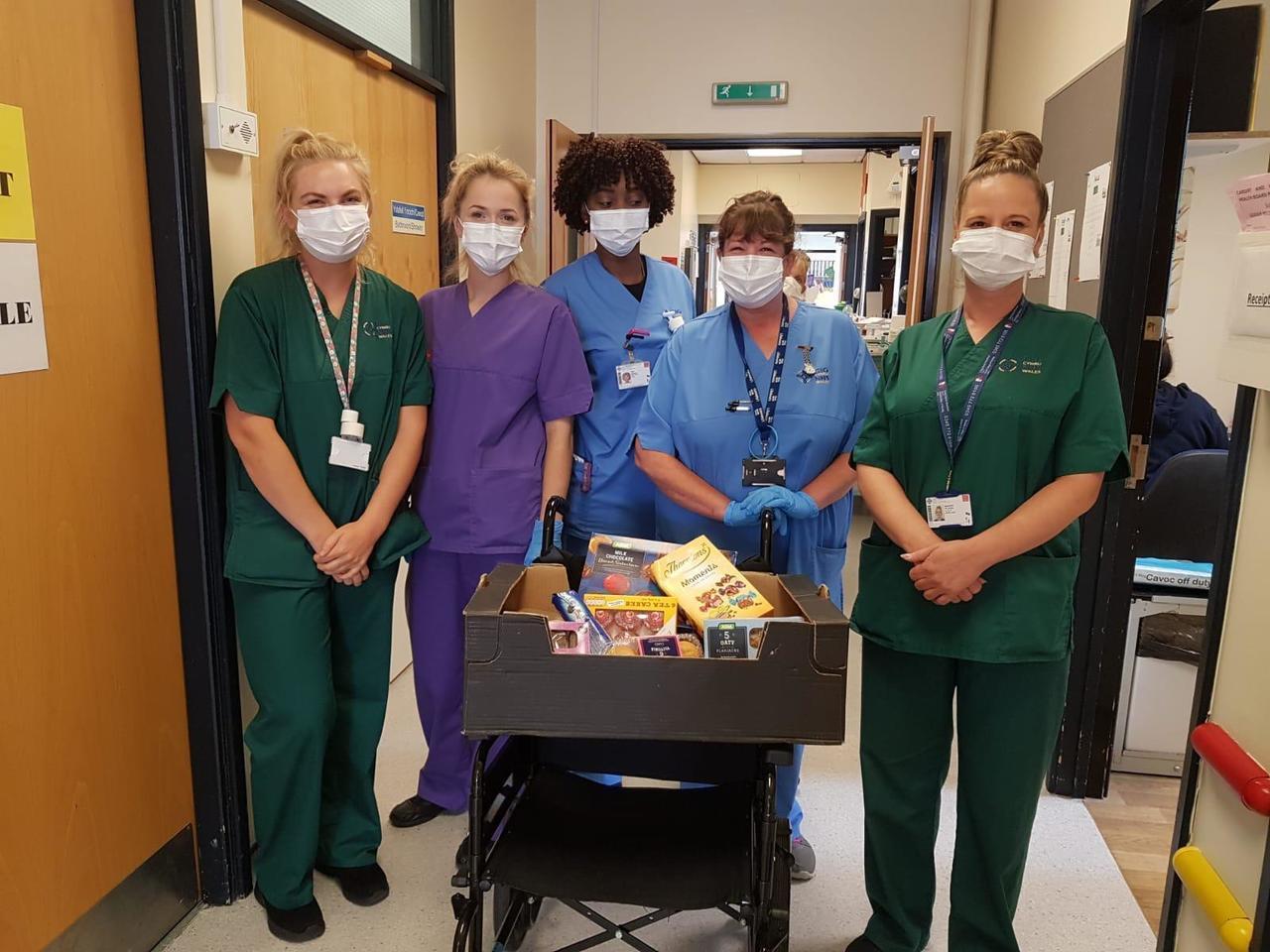 Hospital donation | Asda Cardiff Bay