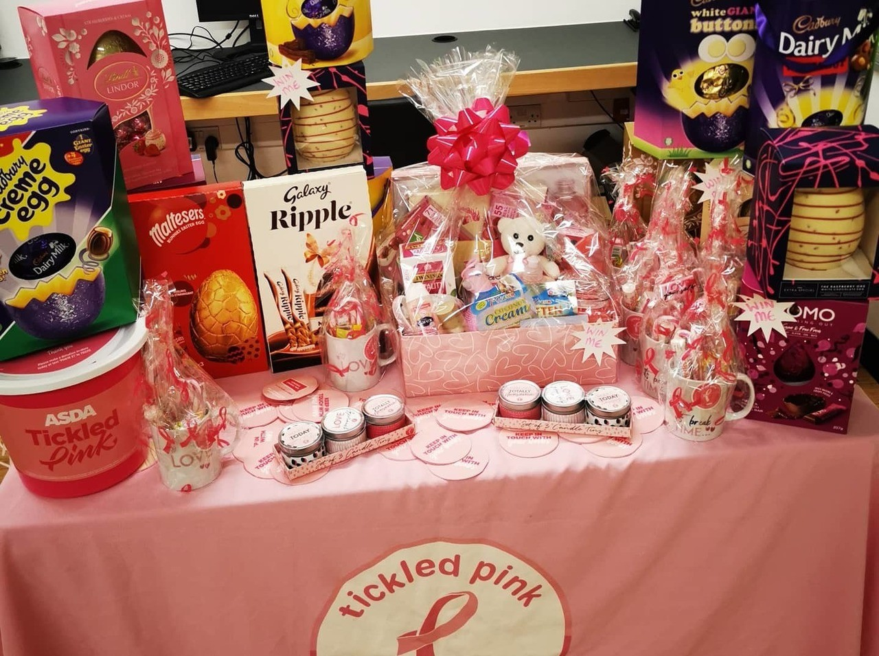 Raising money for Tickled Pink and Copperfeel❤️❤️ | Asda St Leonards on Sea