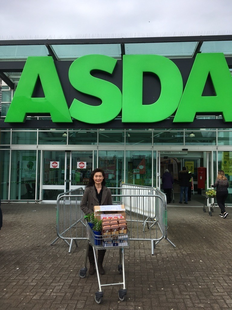 Fersands Family Centre sent Susan to collect our donation of Easter Eggs for the children who attend the Nursery. | Asda Dyce
