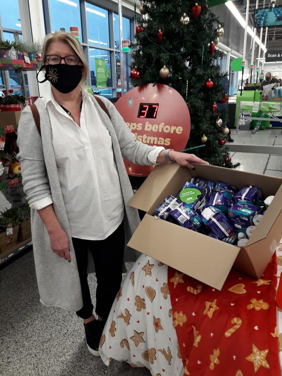 Donation to Stockport Women's Centre | Asda Reddish