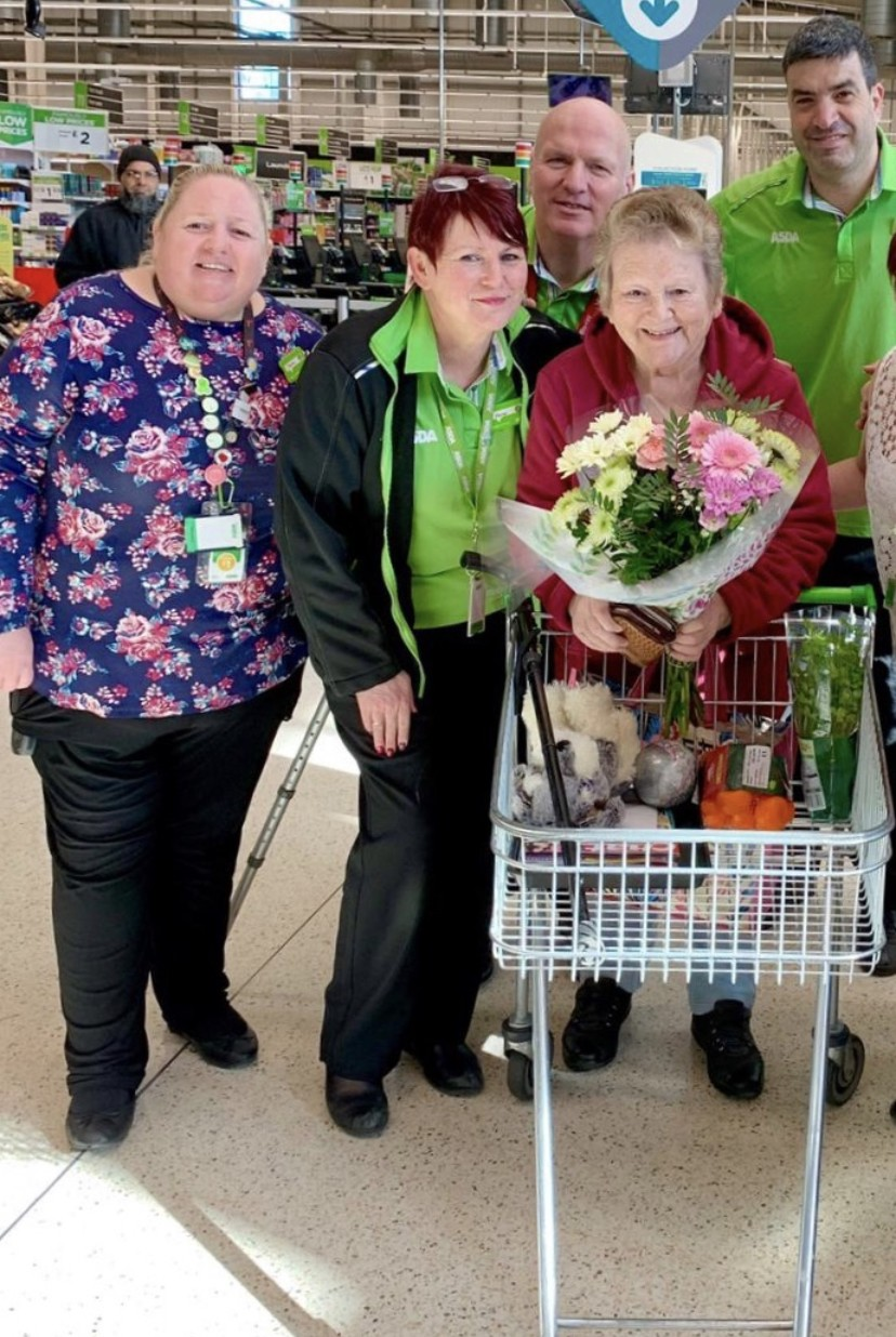 Lovely thank you from Jean  | Asda Dewsbury
