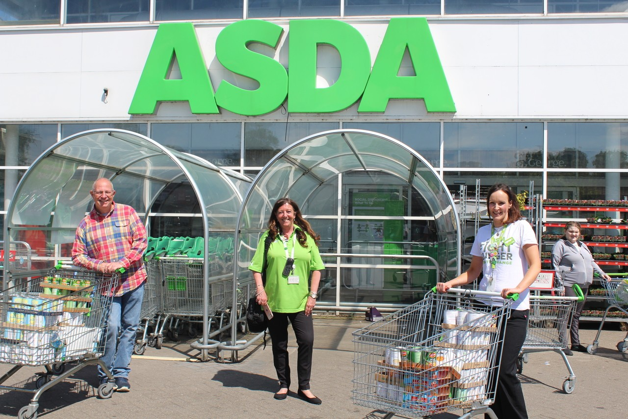Bolton and Burnden Park store donation to Urban Outreach charity.   | Asda Bolton