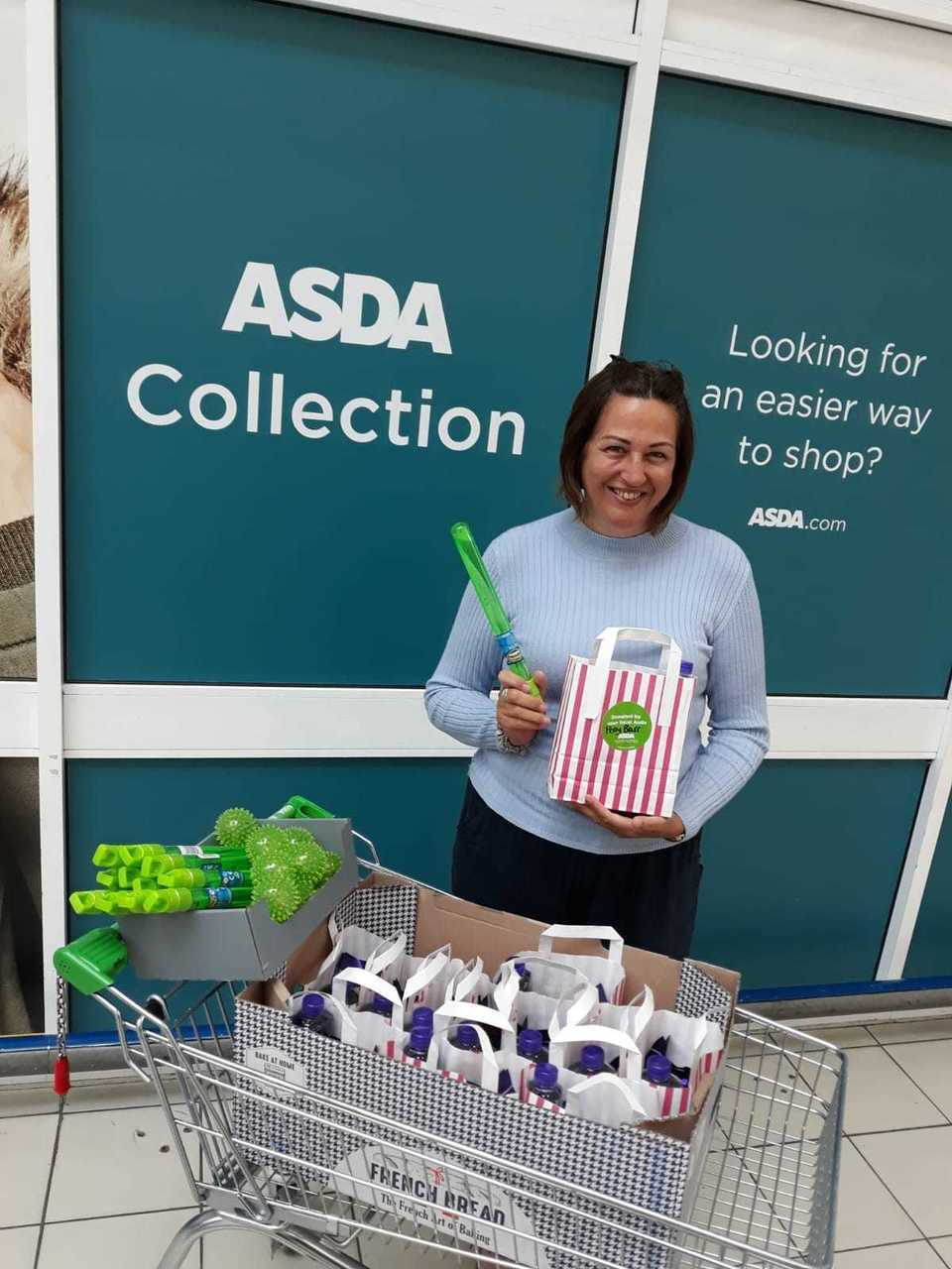 Donation to Square Peg Activities Ltd | Asda Perry Barr