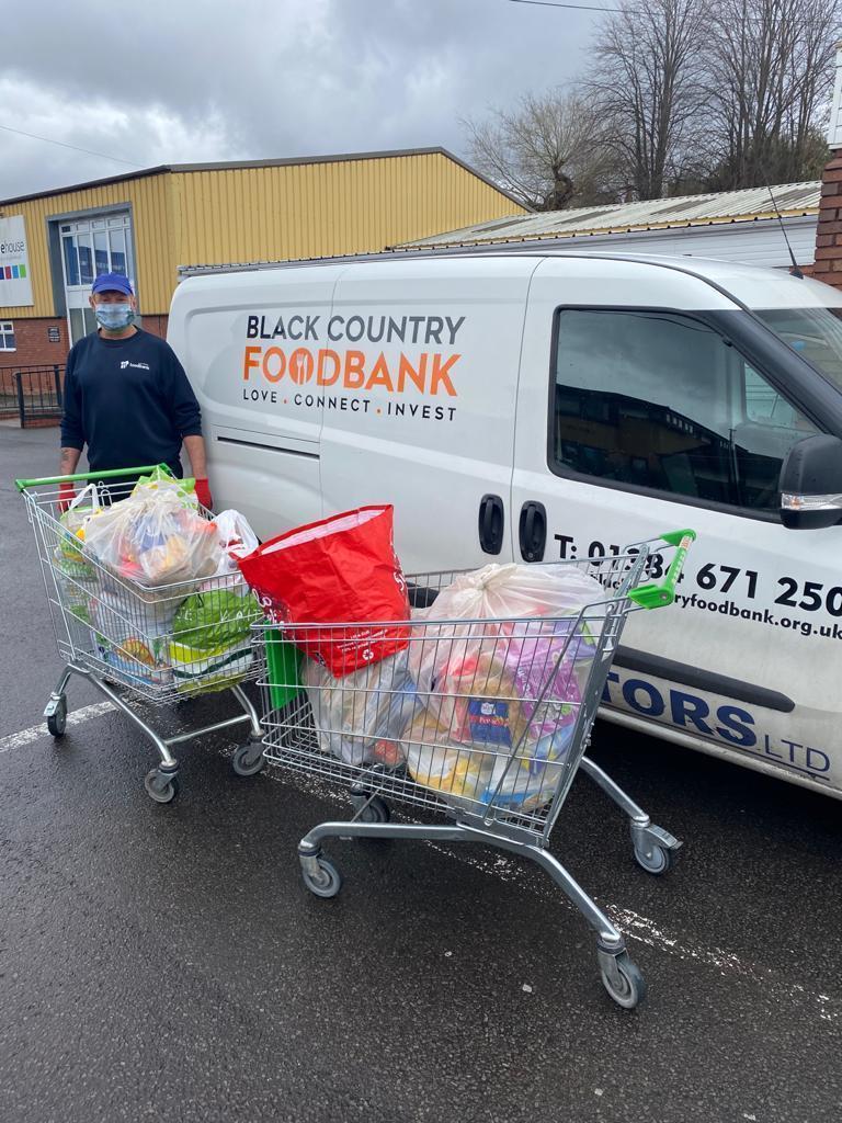 Food bank donation. | Asda Sedgley