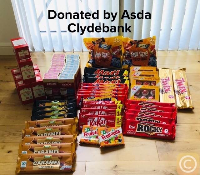 NICU donation | Asda Clydebank