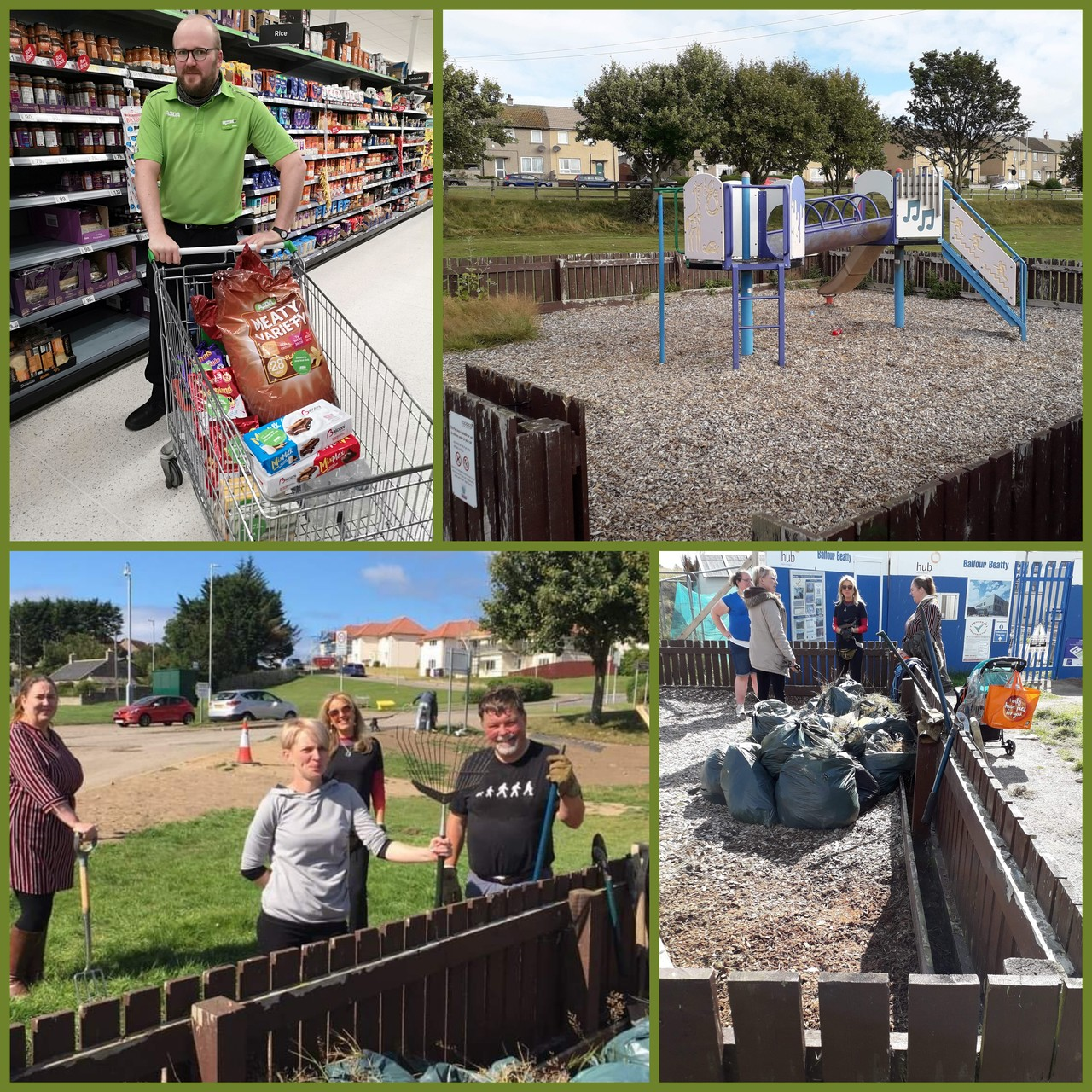 Lossiemouth community project | Asda Elgin