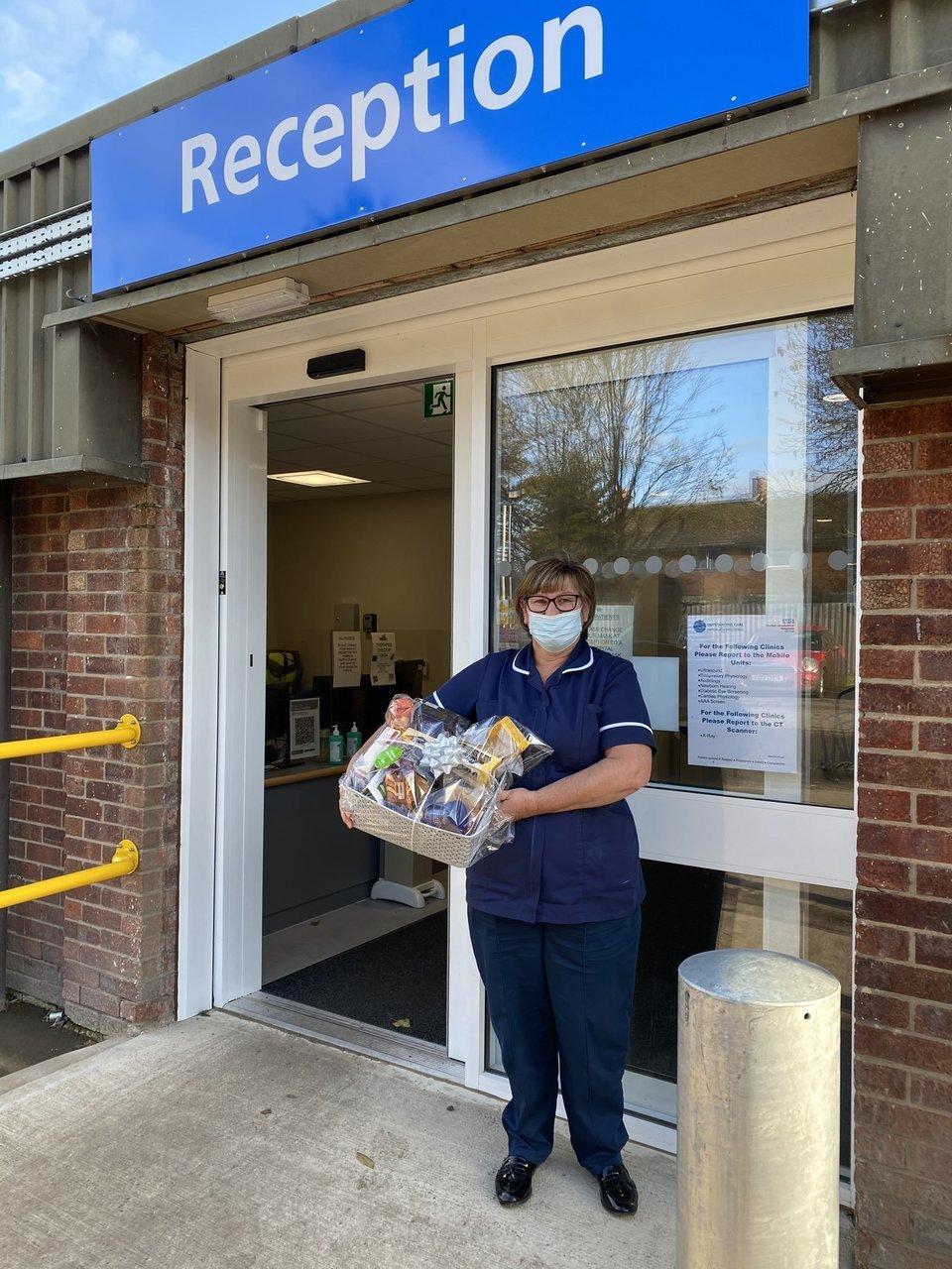 Donation for Grantham Hosital staff | Asda Grantham