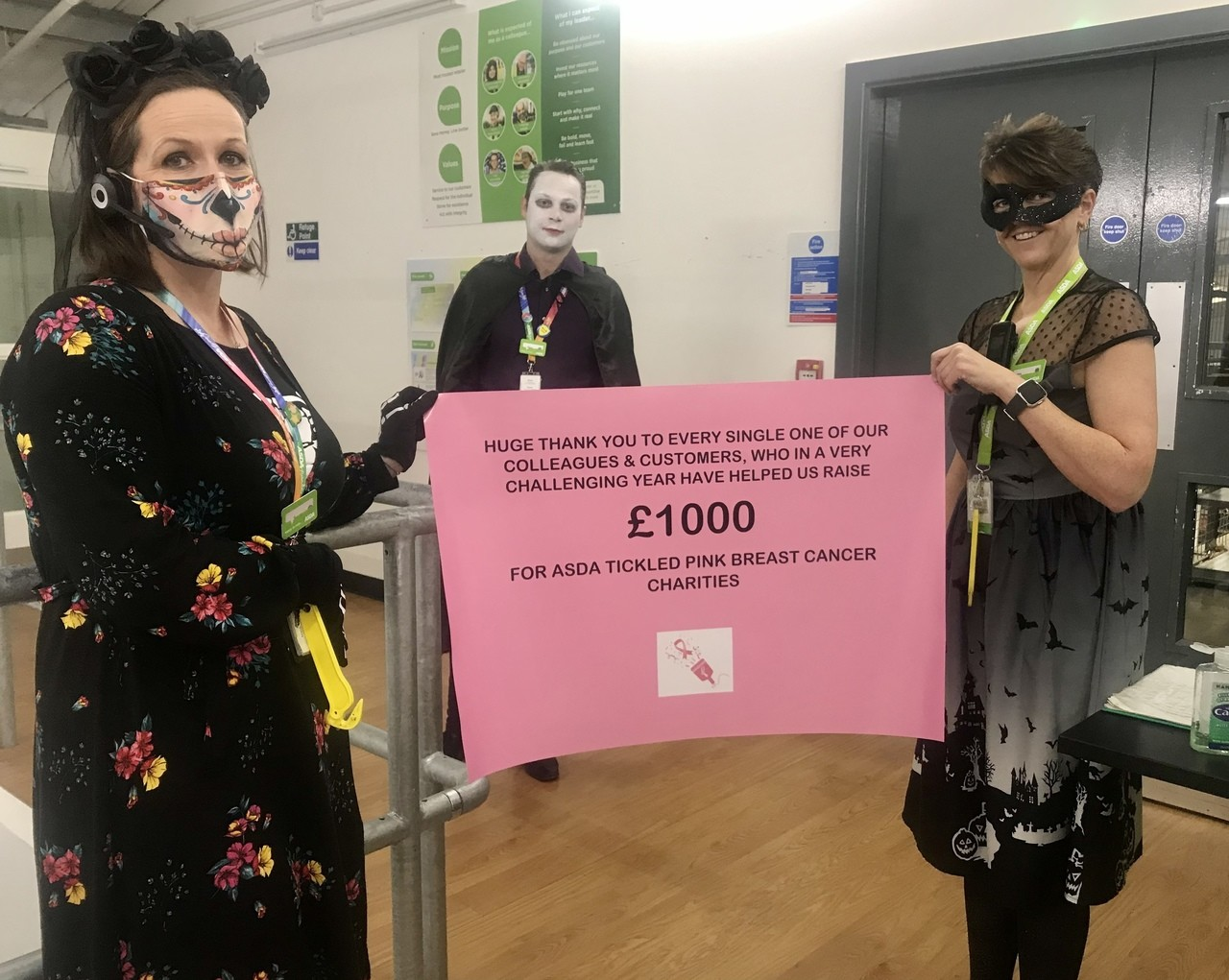Tickled Pink total for 2020 | Asda Frome