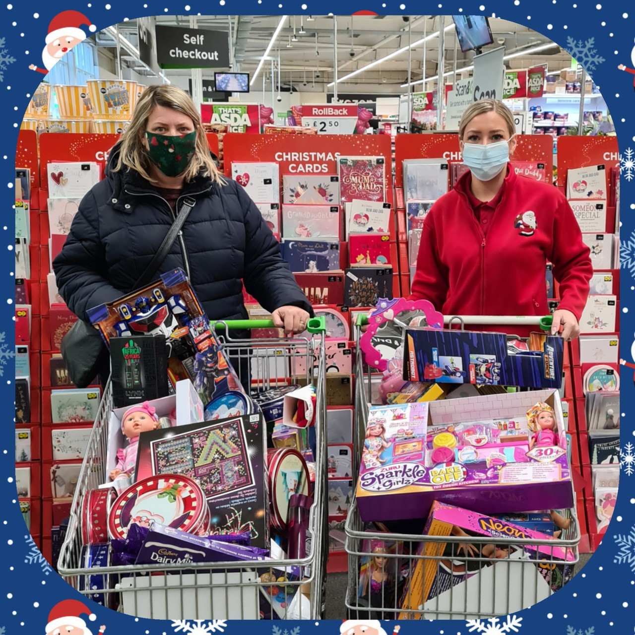 Christmas Toy Appeal thanks | Asda Fleetwood